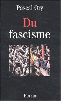 Du fascisme