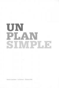 Un plan simple : Perspective, scène, écran ; édition bilingue anglais-français