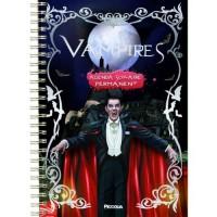 agenda scolaire permanent vampires Dracula