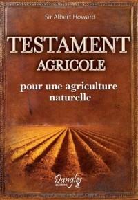 Testament agricole - pour une agriculture naturelle