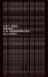 Préface à la Phénoménologie de l'Esprit