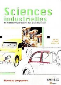 Sciences industrielles en Classes Préparatoires aux Grandes Ecoles : Première et deuxième années