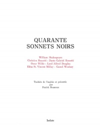 Quarante Sonnets Noir