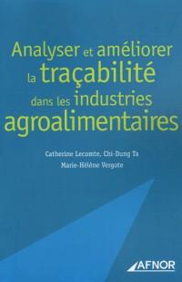 Analyser et améliorer la traçabilité dans les industries agroalimentaires