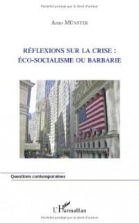 Réflexions sur la crise : éco-socialisme ou barbarie ?