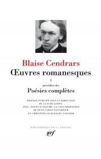 OEuvres romanesques/Poésies complètes (Tome 1)