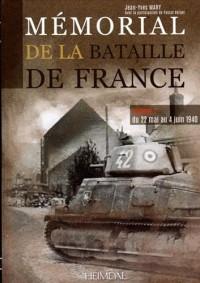 Mémorial de la bataille de France : Tome 2, Du 5 au 25 juin 1940
