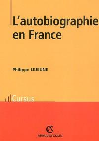 L'autobiographie en France