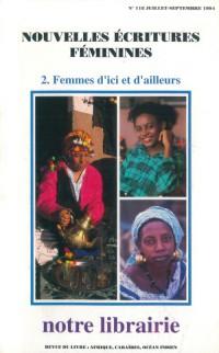 118- Nouvelles Ecritures Feminines/ 2- Femmes d'Ici et d'Ailleurs