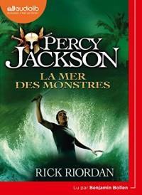 Percy Jackson 2 - La Mer des monstres: Livre audio 1 CD MP3