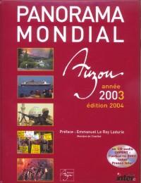 Panorama mondial année 2003