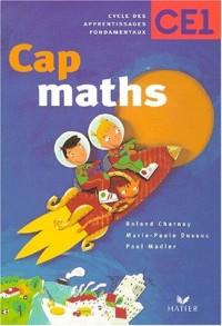 Cap maths : CE1, fichier élève