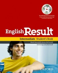 English Result : Intermediate Student's Book (1DVD)