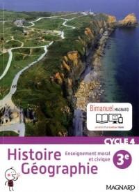Histoire géographie, enseignement moral et civique 3e cycle 4