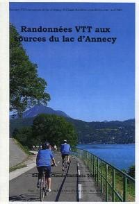 Randonnées VTT aux sources du lac d'Annecy