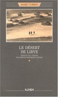Le désert de Libye