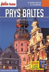 Guide Pays Baltes 2018 Carnet Petit Futé