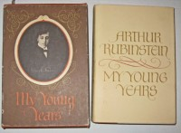 My young years [by] Arthur Rubinstein
