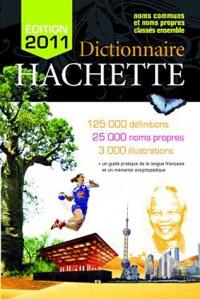 Dictionnaire Hachette 2011 France
