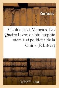 Confucius et Mencius  ed 1852