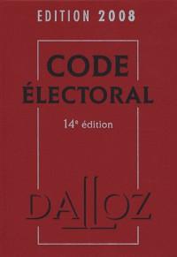 Code électoral : Edition 2008