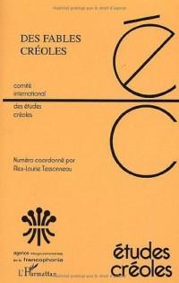 Etudes créoles 2-2002 Des fables créoles