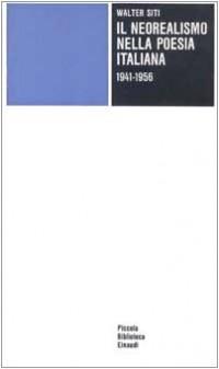 Il neorealismo nella poesia italiana (1941-1956)
