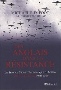 Des Anglais dans la Résistance : Le Service Secret Britannique d'Action (SOE) en France 1940-1944