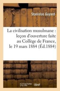 La Civilisation Musulmane  ed 1884
