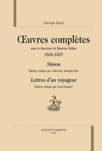 Oeuvres complètes 1836-1837