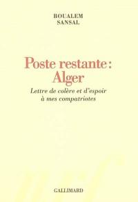 Poste restante : Alger