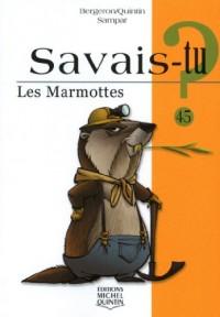 Les marmottes - savais-tu