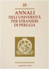 Annali dell'Università per stranieri di Perugia. Anno VI: 25 (Annali Università stranieri di Perugia)