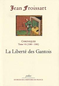Chroniques de Jean Froissart : Tome 7