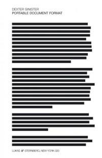 Dexter Sinister: Portable Document Format