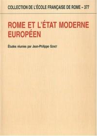 Rome et l'Etat Moderne Europeen (Collectif)