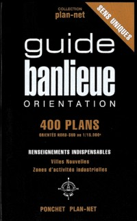 400 Plans - Guide Banlieue Orientation, Index Rues, Zi