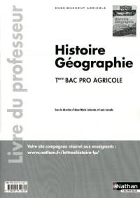 Histoire-Geographie Term Bac Pro Agricole - Professeur 2011