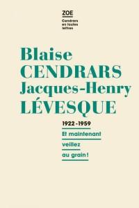 Correspondance 1922-1959 :
