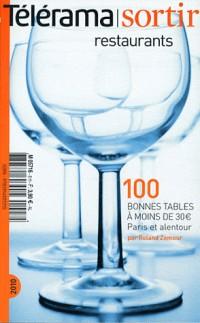 Guide télérama des restaurants à moins de 30 euros Paris 2010
