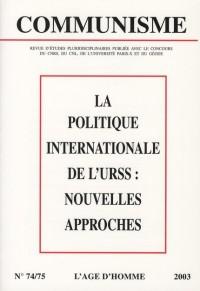 C74/75 politique internationale URSS