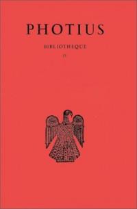 Bibliothèque. : Tome IV, Codices 223-229
