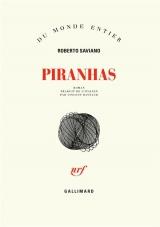 Couverture du livre Piranhas