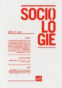 Sociologie 2010 - N° 1