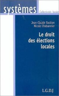 Le droit des élections locales