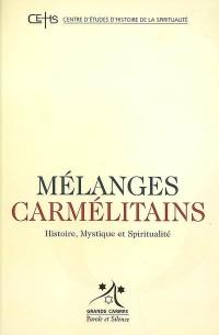 Melanges Carmelitains