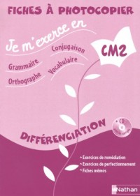 CM2 Fichier différenciation (1CD audio)