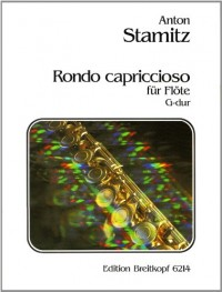 EDITION BREITKOPF STAMITZ ANTON - RONDO CAPRICCIOSO G-DUR - FLUTE