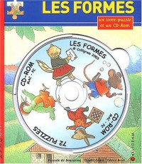 Les formes (1 livre-puzzle + 1 CD-Rom)