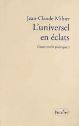 L'universel en éclats